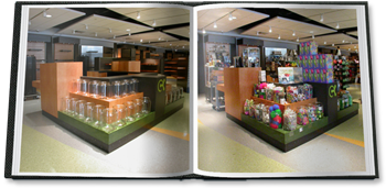 A proper store design provides a beautiful and interesting canvas upon which each store team has the ability to creatively display and sell merchandise.