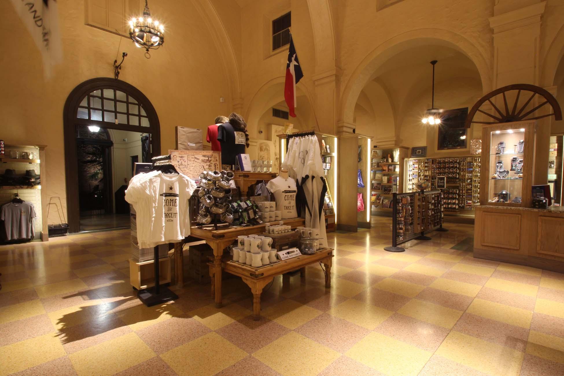 the alamo gift shop  u2022 gerken retail design consultant